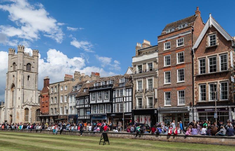 Universität von Oxford England lizenzfreie stockbilder