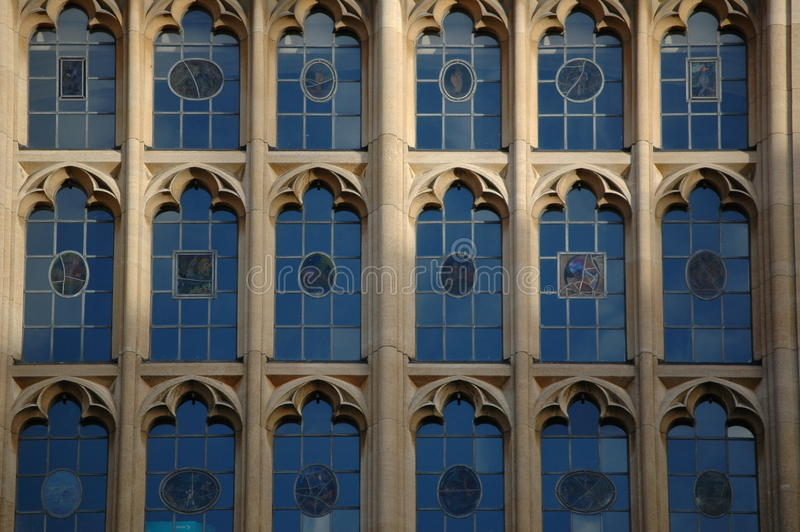 Universität von Oxford Windows lizenzfreies stockfoto