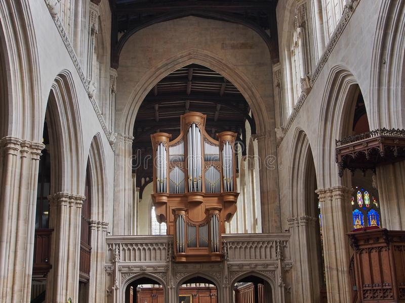 Universität von Oxfords-Kirche von St Mary stockfotos