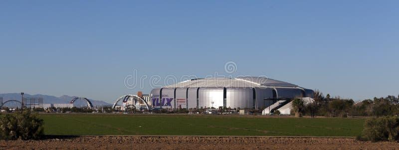 Universität von Phoenix hauptsächliches Stadium, AZ stockbild