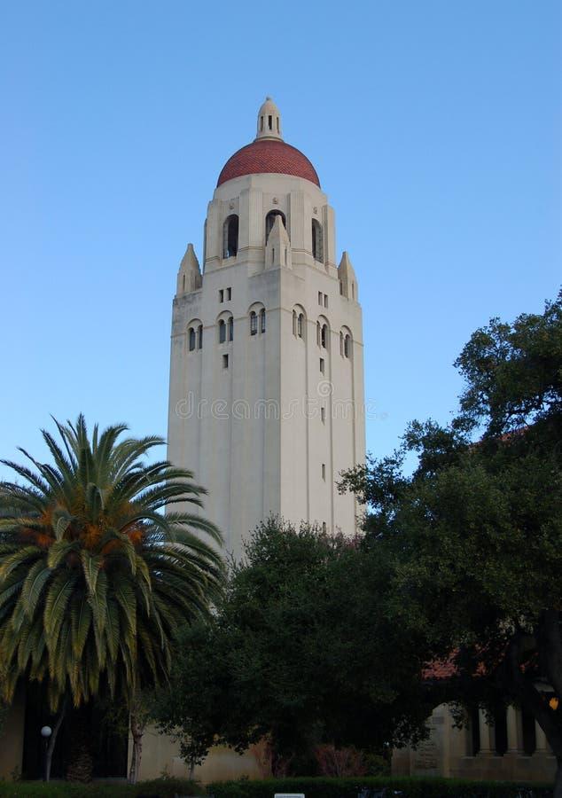 Universität von Stanfordhoover-Kontrollturm stockbilder