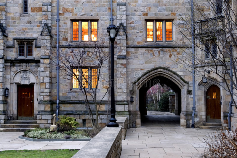 Universität von Yale stockfotos