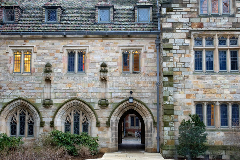 Universität von Yale stockfotografie