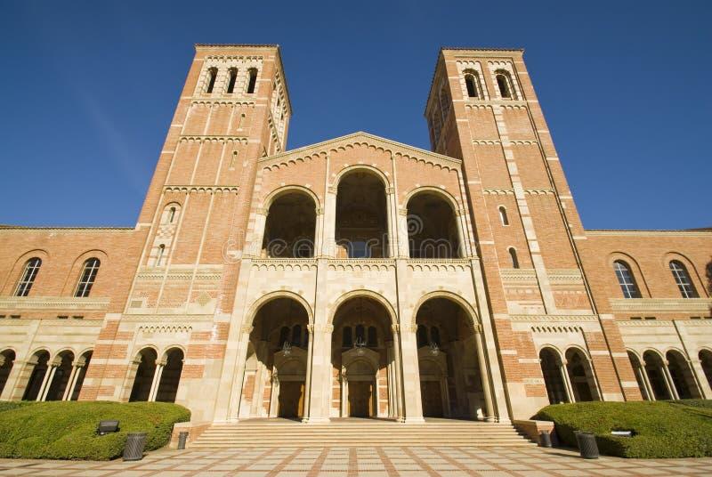 Universitätsgelände-Gebäude lizenzfreie stockfotografie