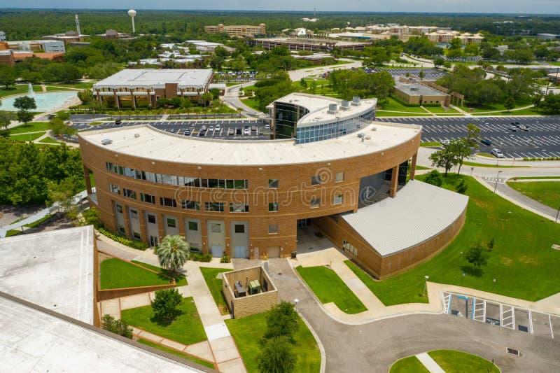 Université aérienne d'académie d'enseignement de la photo UCF de la Floride centrale Orlando photos libres de droits