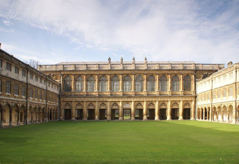 Université Cambridge de trinité photos stock