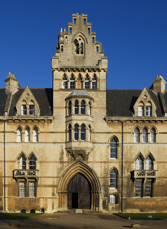 Université d'église du Christ, Oxford photo libre de droits