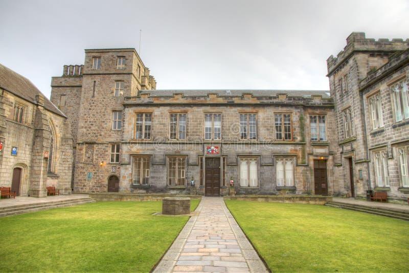 Université d'Aberdeen images libres de droits