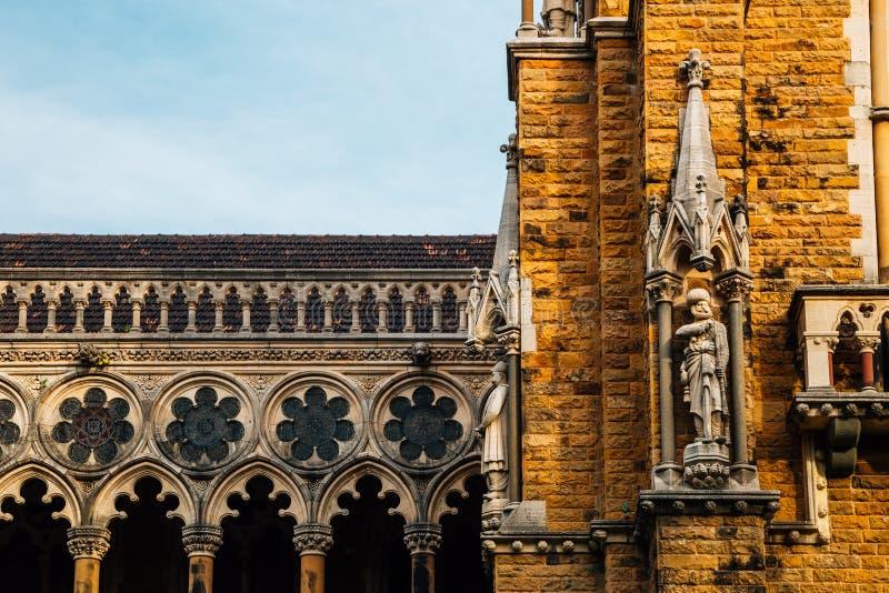 Université de campus de fort de Mumbai dans Mumbai, Inde photos stock