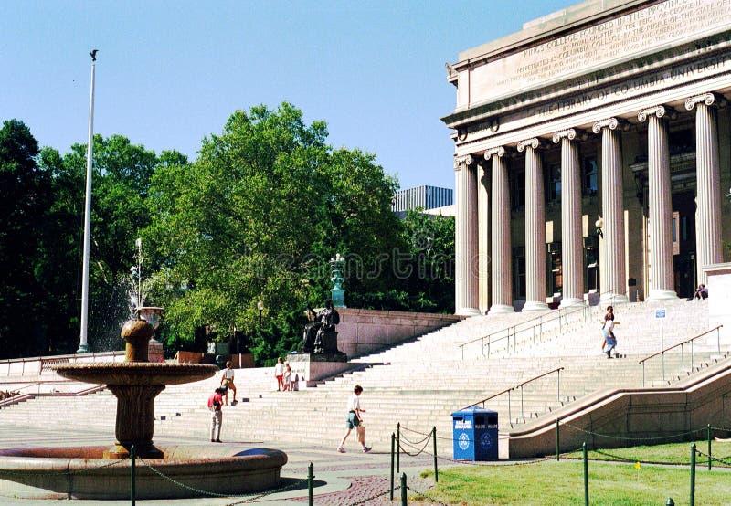 Université de Columbia de vue de vintage - NYC photos stock
