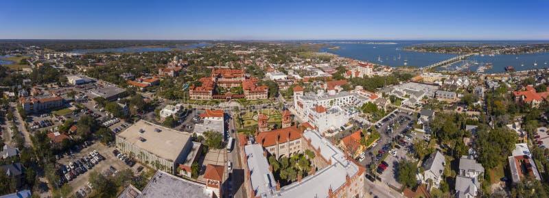Université de Flagler, St Augustine, la Floride, Etats-Unis photo stock