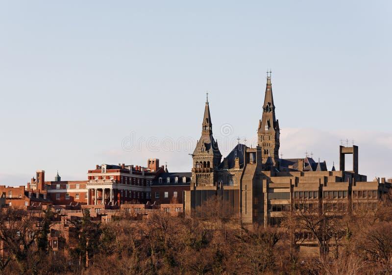 Université de Georgetown photographie stock libre de droits