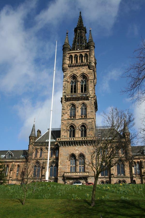 Université de Glasgow photo libre de droits