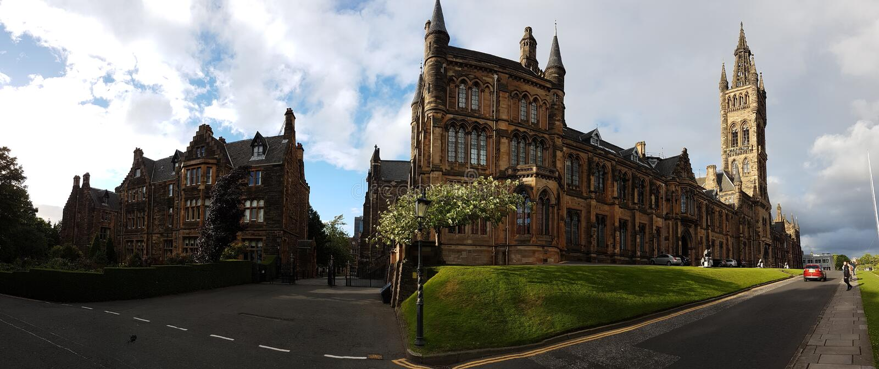 Université de Glasgow 2017 images stock