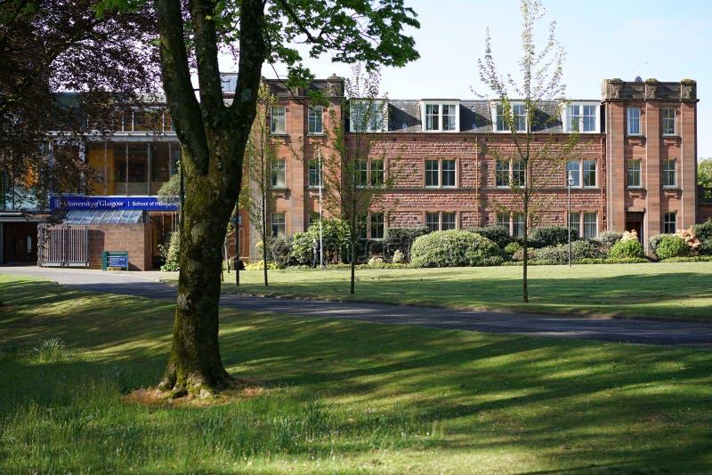 Université de Glasgow Dumfries Campus photos libres de droits