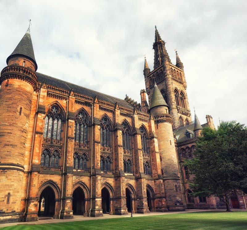 Université de Glasgow, Ecosse photos libres de droits