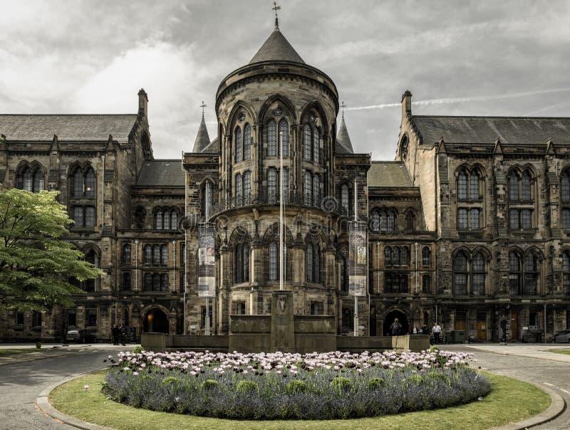 Université de Glasgow, Ecosse photo libre de droits