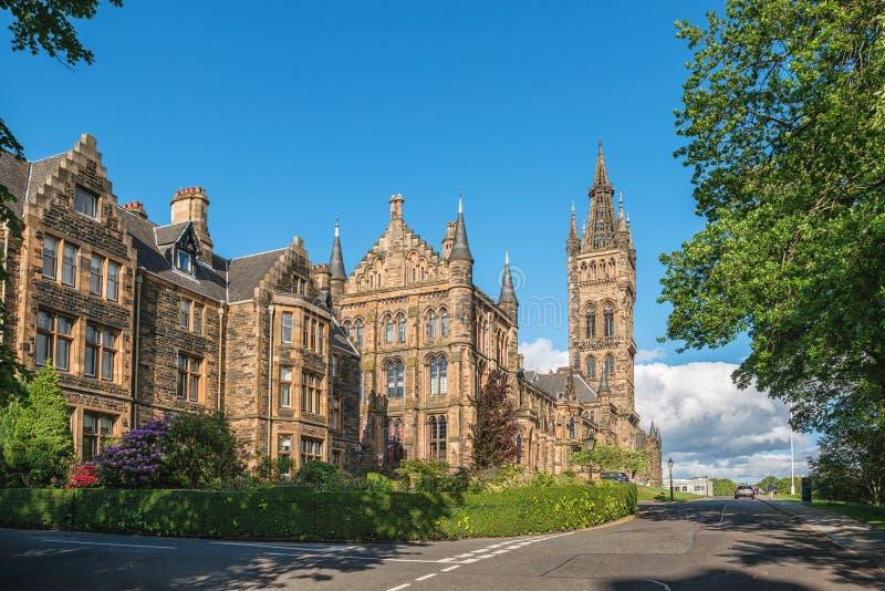 Université de Glasgow, Ecosse, R-U photos stock