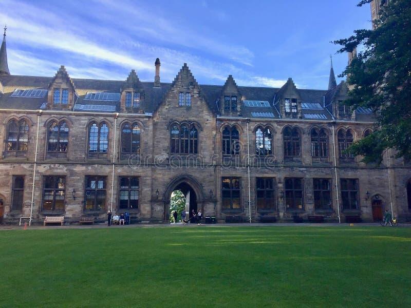 Université de Glasgow, Ecosse, R-U photo libre de droits