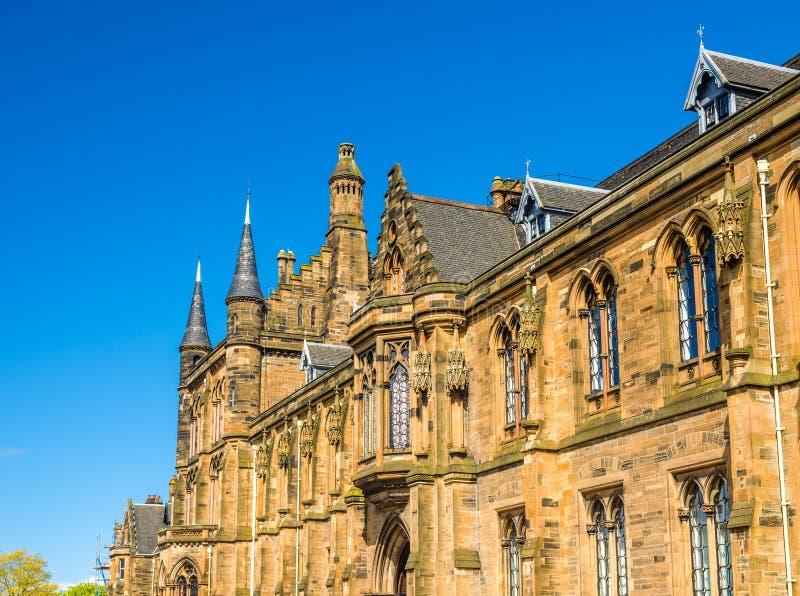 Université de Glasgow Main Building photographie stock libre de droits