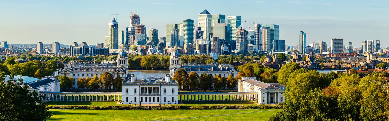 Université de Greenwich et la ville de Londres, R-U photos libres de droits