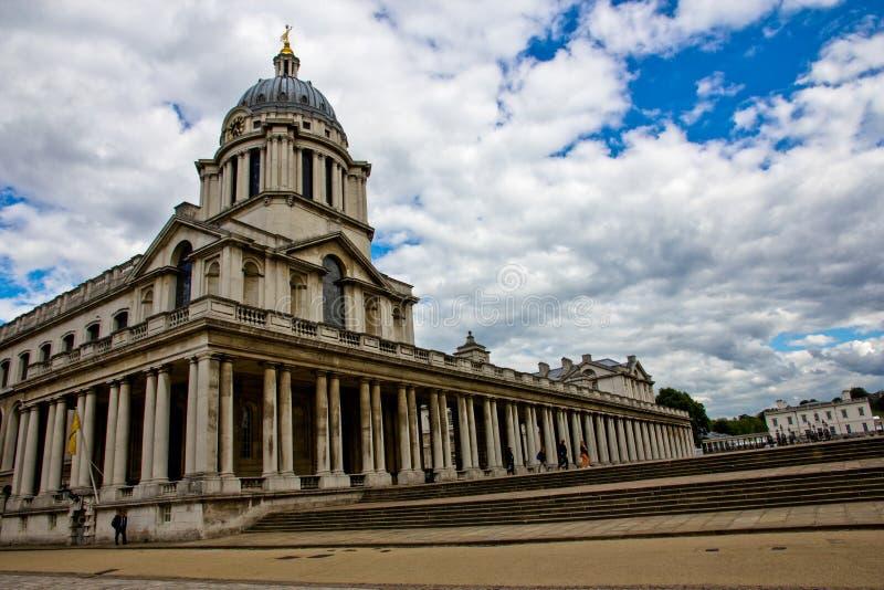 Université de Greenwich, Londres, Angleterre image libre de droits