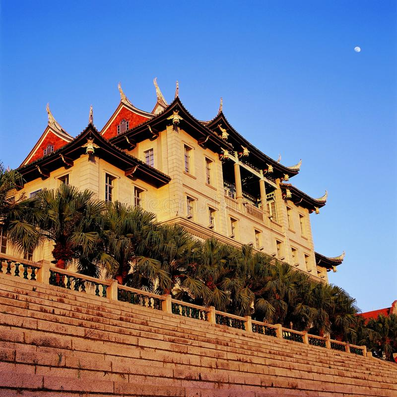 Université de jimei de Xiamen images libres de droits