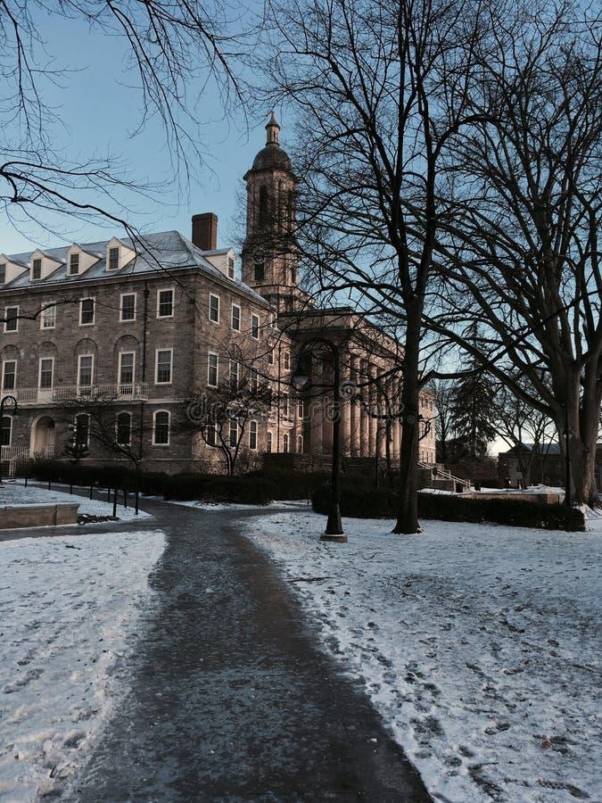Université de l'Etat de Pennsylvanie images stock