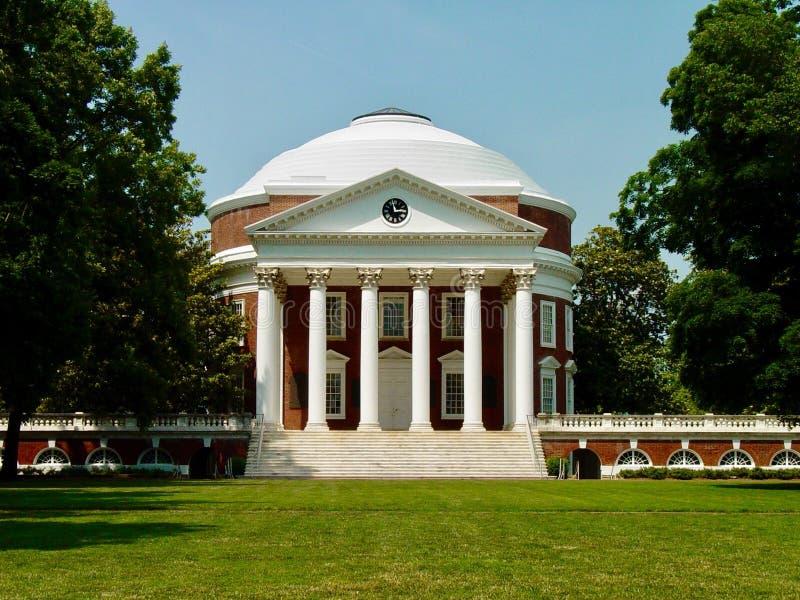 Université de la Virginie images libres de droits