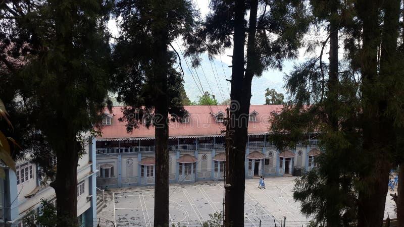 Université de montagne photo libre de droits