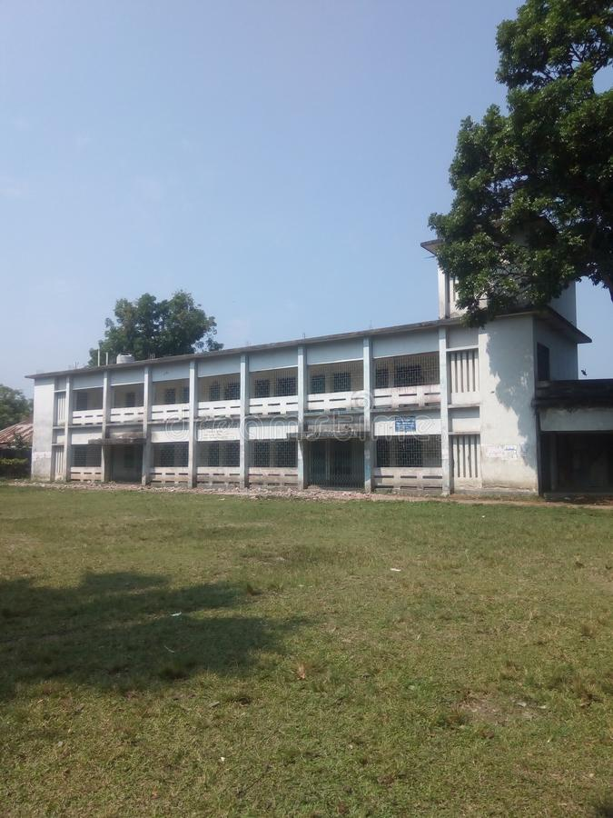 Université de Munsi images libres de droits