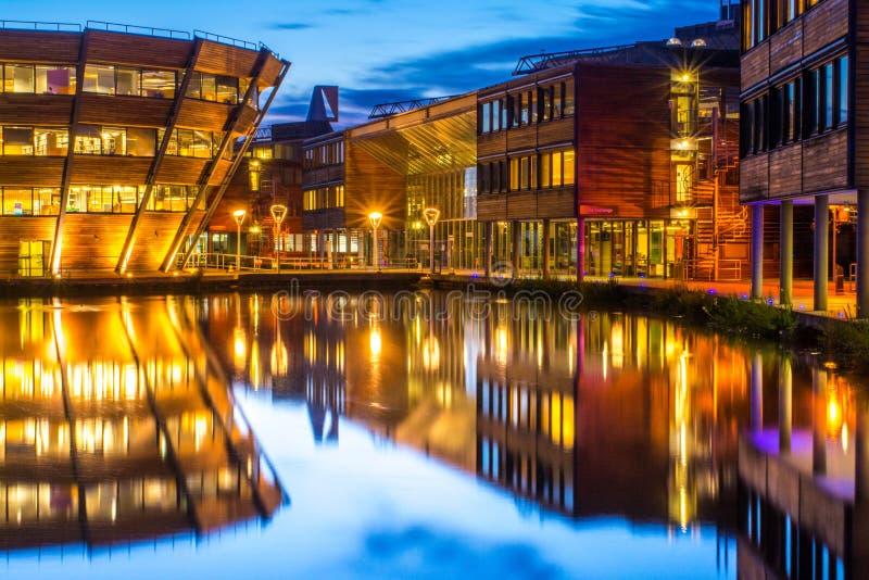 Université de Nottingham en Angleterre photo libre de droits