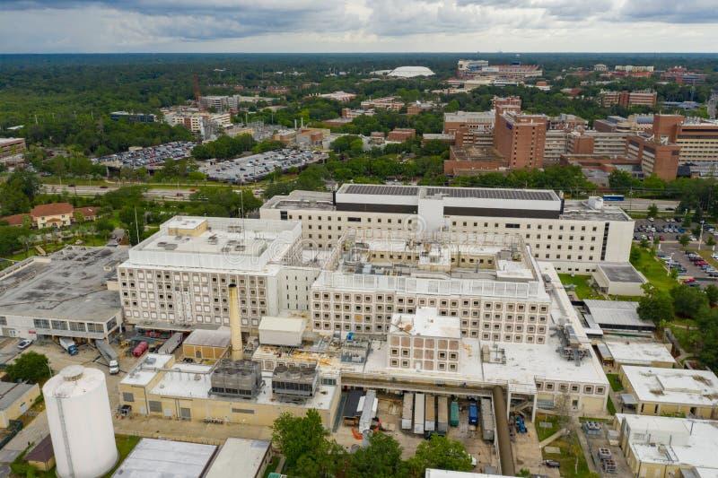 Université de photo de bourdon de la Floride Gainesville photographie stock libre de droits