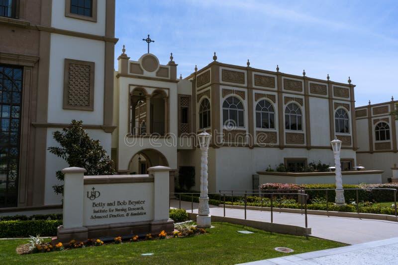Université de San Diego Campus photo stock