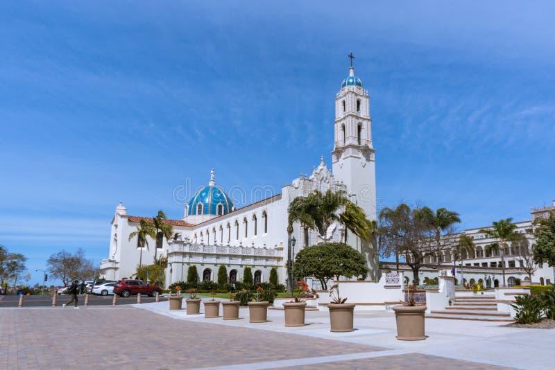Université de San Diego Campus images stock