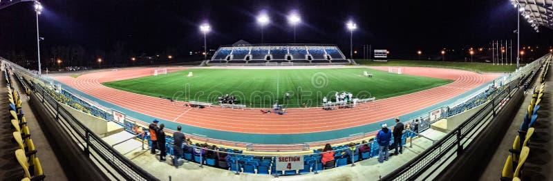 Universit? de stade de Moncton, Nouveau Brunswick, Canada photos stock