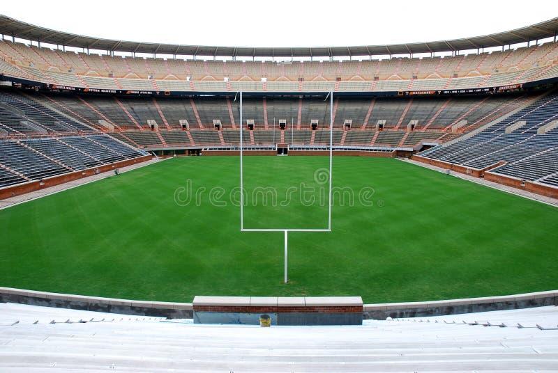 Université de terrain de football de Tennessee photographie stock
