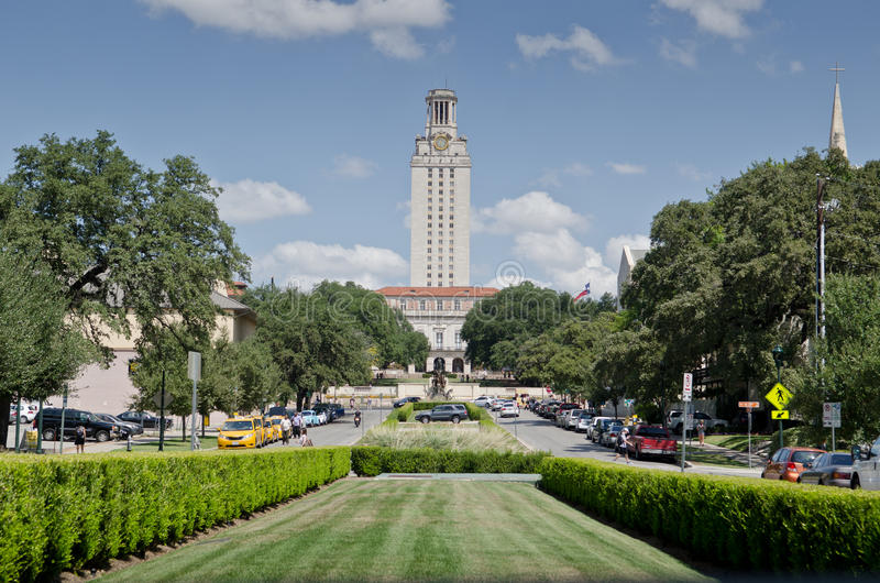 Université de Texas Tower photo stock