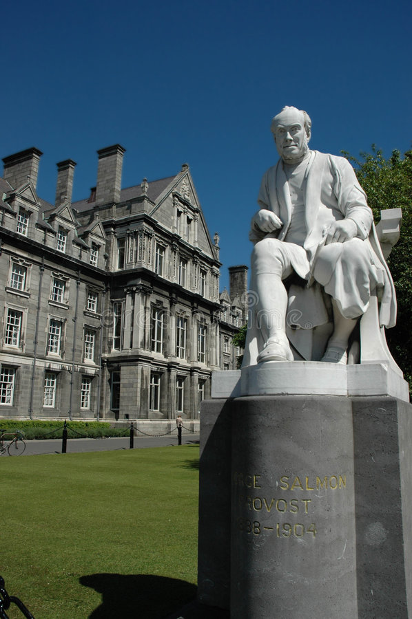 Université de trinité, Dublin photographie stock libre de droits