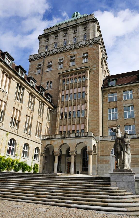 Université de Zurich photographie stock