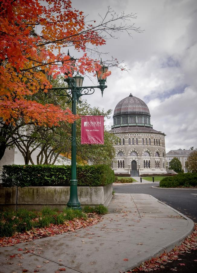 Université des syndicats - Schenectady, NY images stock