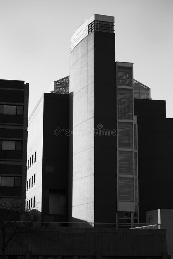 Université du bio bâtiment de la physique du Connecticut image stock