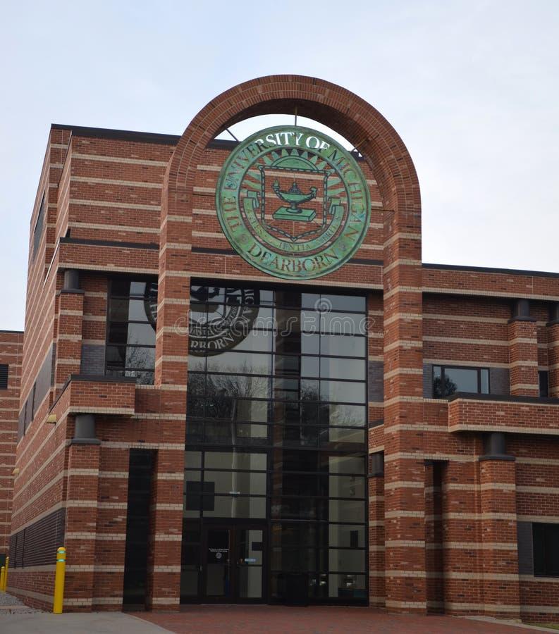 Université du Michigan Dearborn image libre de droits