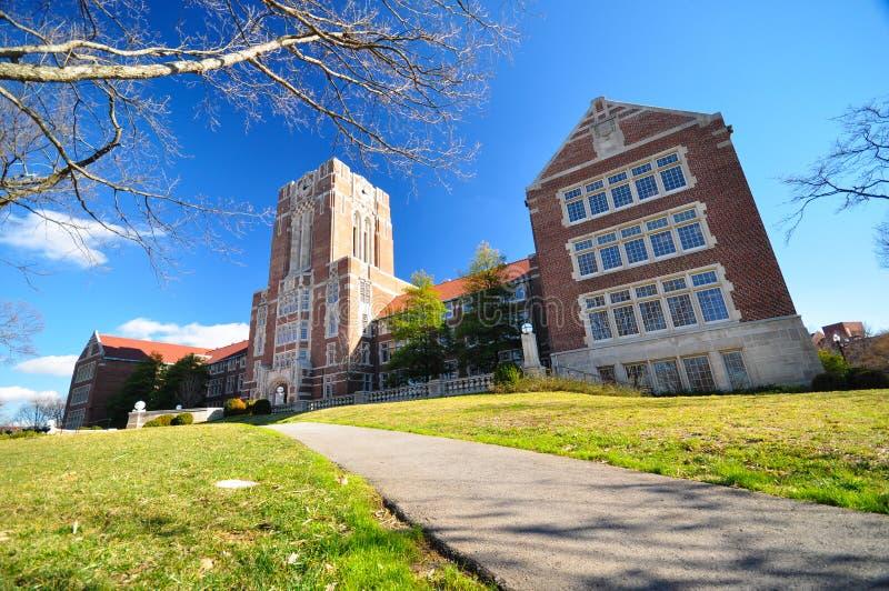 université du Tennessee photo stock