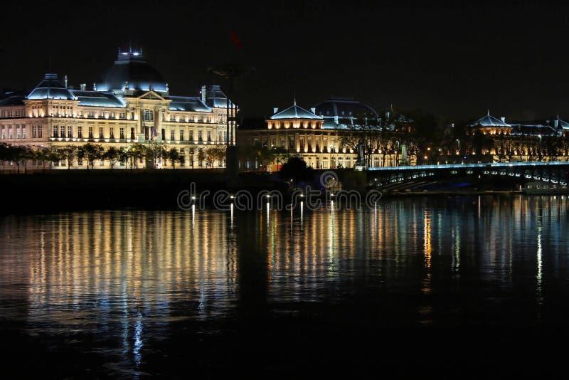Université et le Rhône photo libre de droits