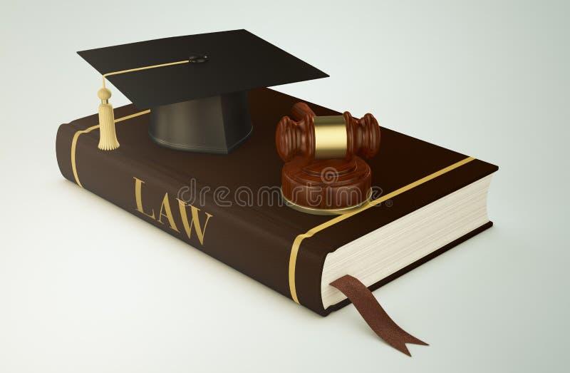 Université, faculté de droit illustration de vecteur