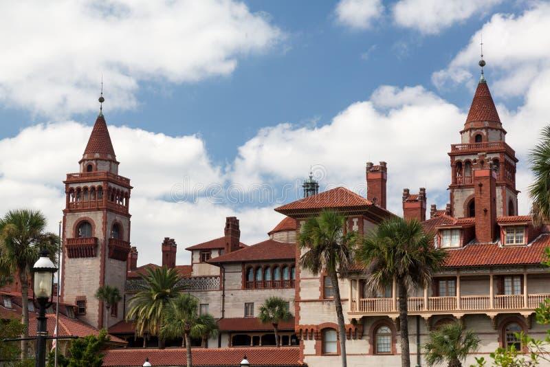 Université la Floride de Flagler de tour photo libre de droits