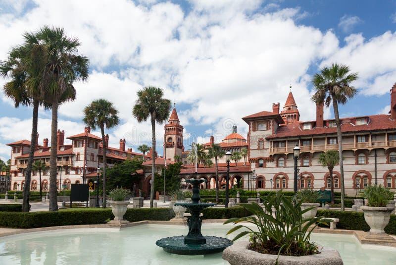 Université la Floride de Flagler de tour image stock