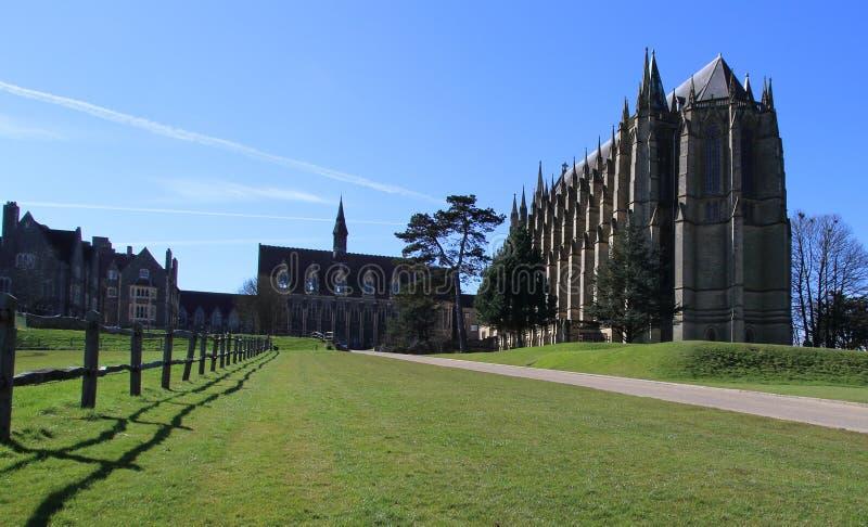 Université Lancing, le Sussex occidental, Angleterre, R-U photos libres de droits