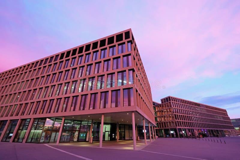 Université moderne des sciences appliquées, campus, Brugg-Windisch images stock